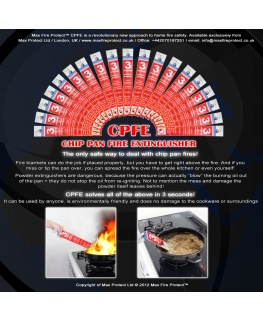 CPFE - Chip Pan Fire Extinguisher